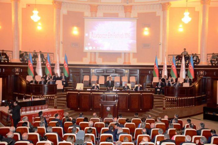 Гянджинский и Шекинский этапы II Азербайджанского фестиваля науки