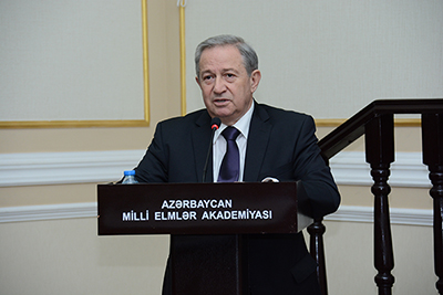 На заседании Президиума НАН Азербайджана обсуждался вопрос о состоянии и перспективах развития исследований, проводимых в институтах Отделения химических наук НАНА