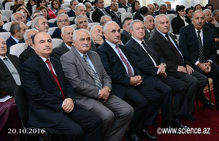 Состоялась Республиканская Научная Конференция посвященная 50-летию создания Института Полимерных Материалов НАНА.